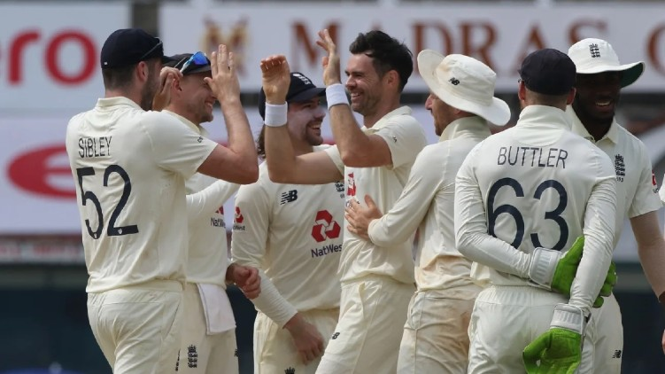 England Top test championship