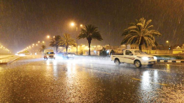 chances of heavy rain in saudi