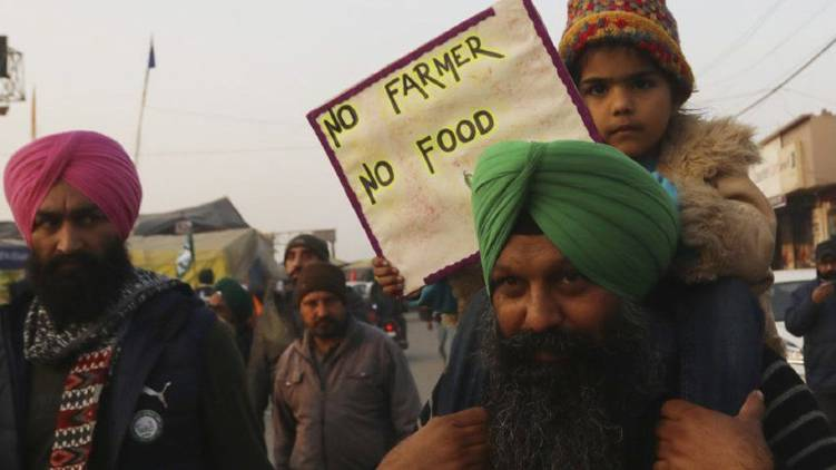 farmers strengthens farmers protest in march