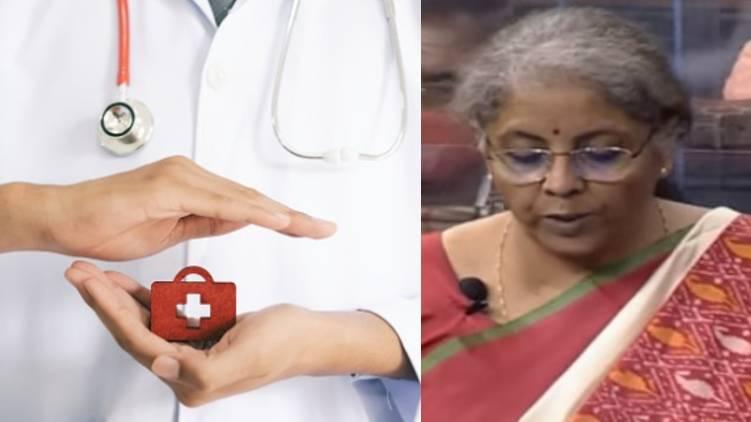 finance minister announces 64180 crore health project