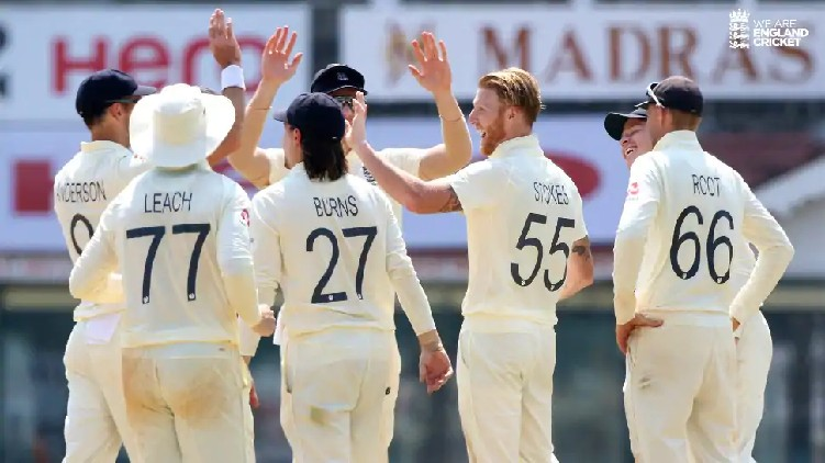 Second Test England changes