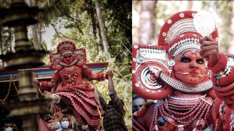 man behind viral theyyam