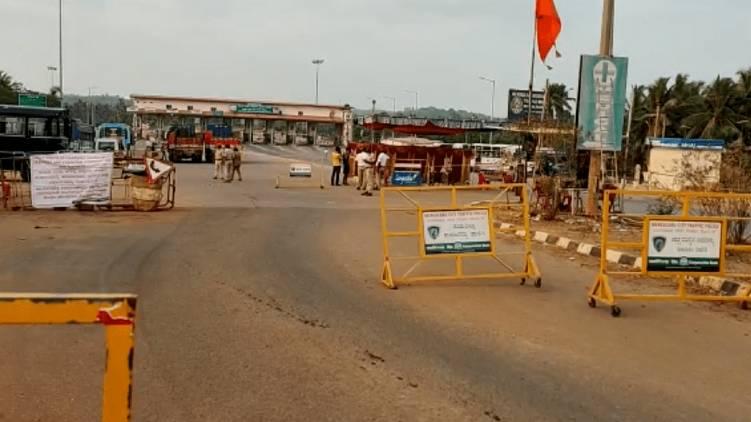 strict control in kasargod karnataka border