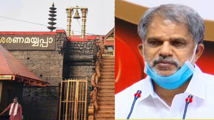 udf vow on sabarimala law lie says a vijayaraghavan