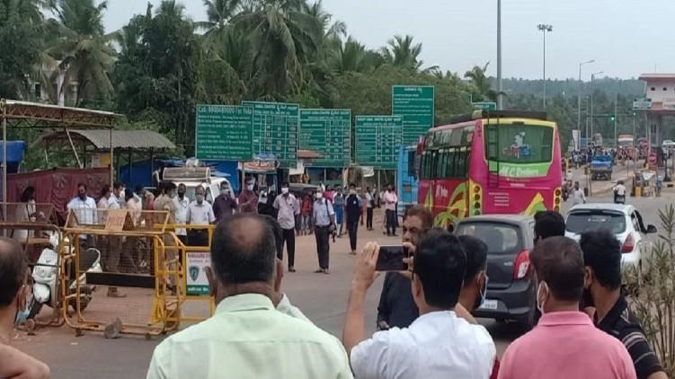 Kerala Karnataka border softened