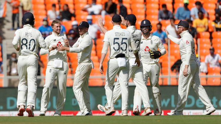 india allout england test