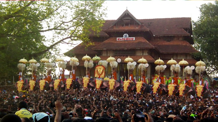 Thrissur Pooram covid restrictions