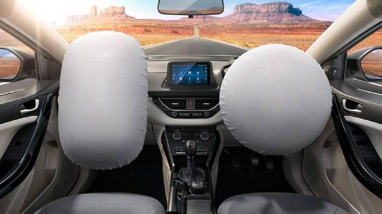 Dual airbags mandatory from april