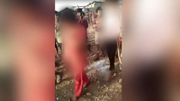 Rape Survivor Tied Paraded With Her Attacker In Madhya Pradesh Shocker