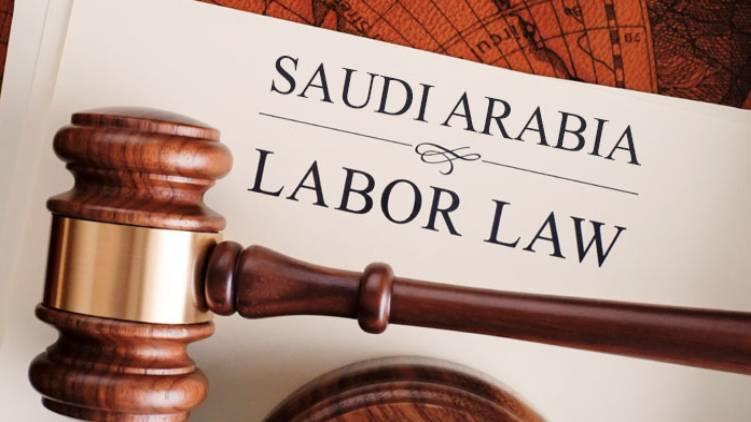 Saudi new labor law from Sunday