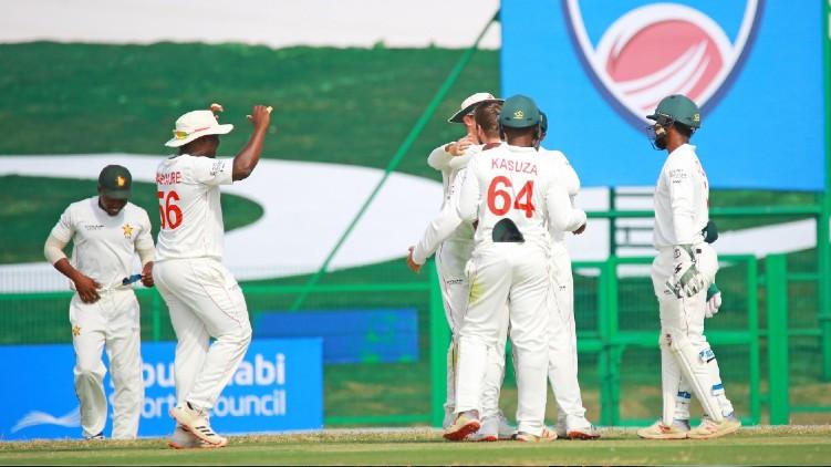 zimbabwe won afganistan test