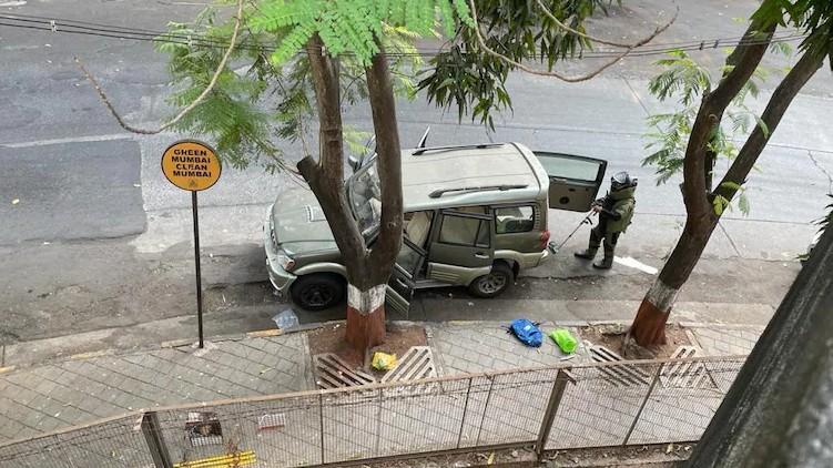 Ambani bomb owner dead
