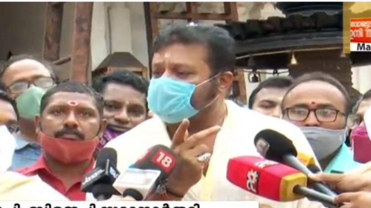 people Thrissur Suresh Gopi