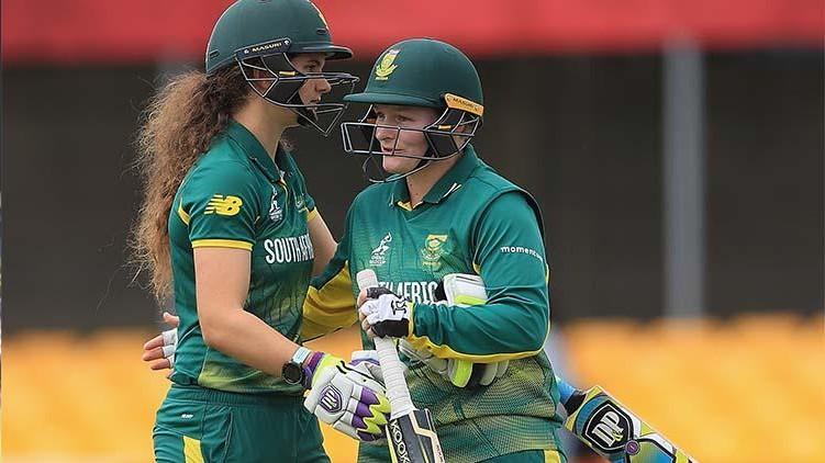 south africa women won
