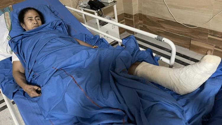 Mamata Banerjee Has Injuries