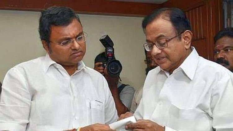 chidambaram and son gets sc summons