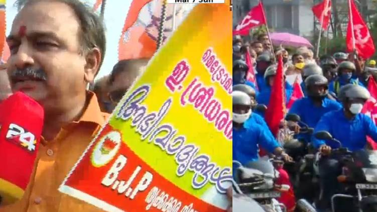 cpim bjp claim palarivattom bridge success