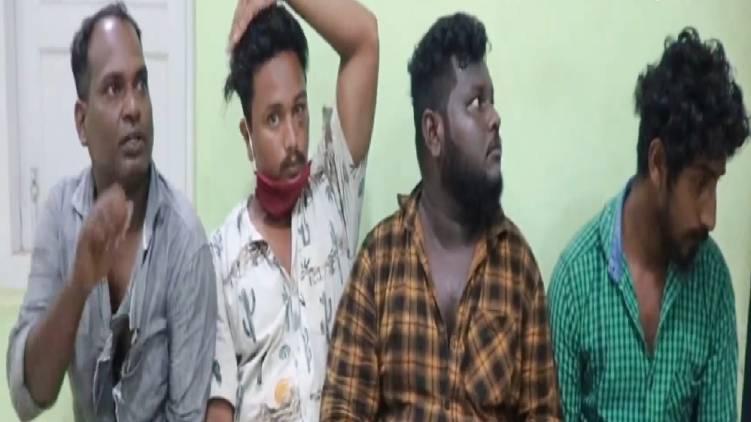 goonda attack against woman in thiruvananthapuram