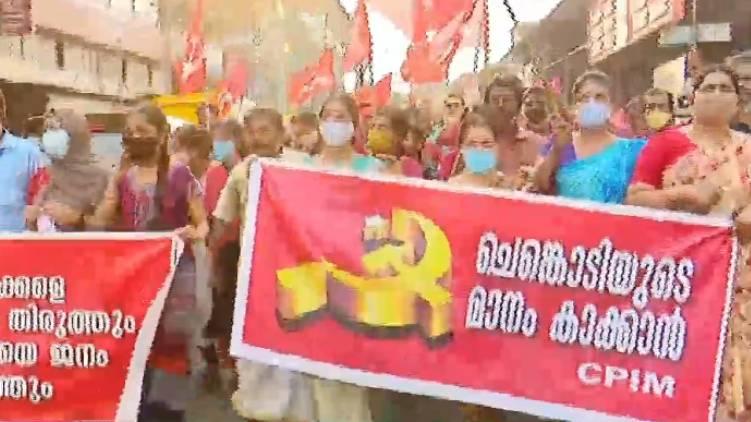 hundreds conquer road kutiyadi march