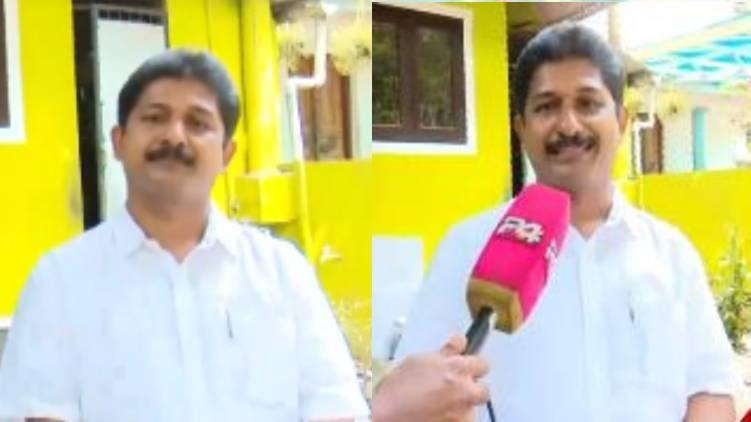 m swaraj against k babu