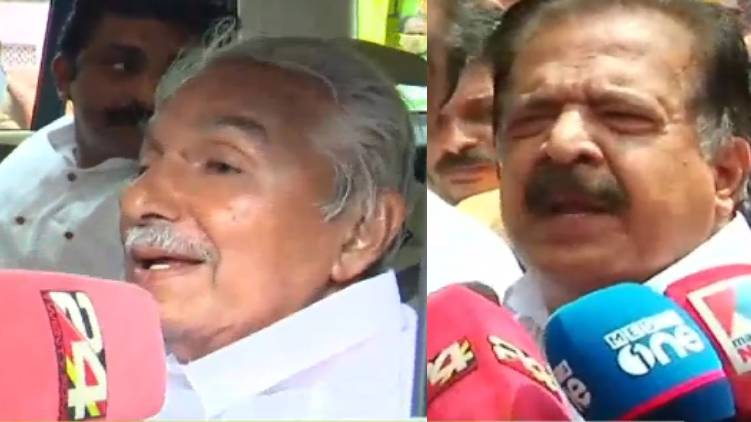 oommen chandy ramesh chennithala response on solar case
