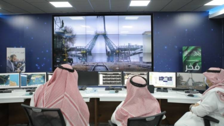 saudi launched two satellites