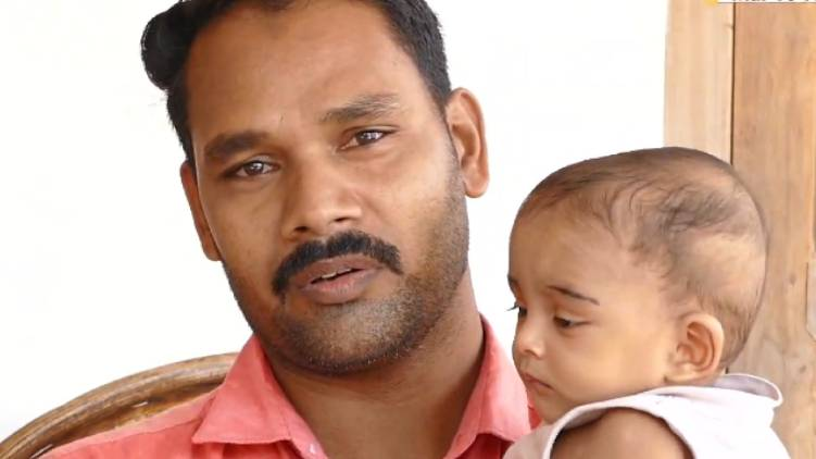 seven month old baby seeks help