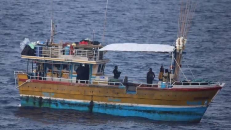 two srilankan boat set free one in custody