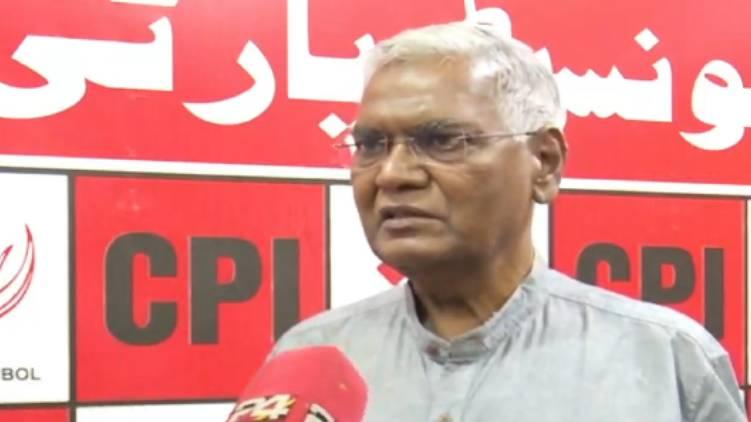 why udf bjp raise sabarimala issue asks d raja