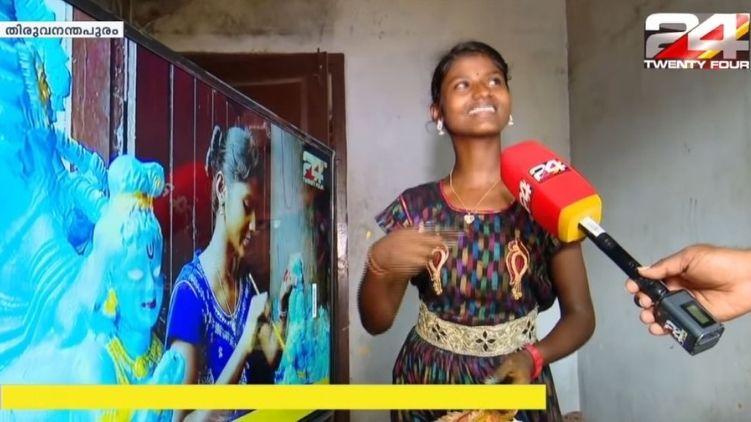 Indira gets new TV heart touching Vishu Story