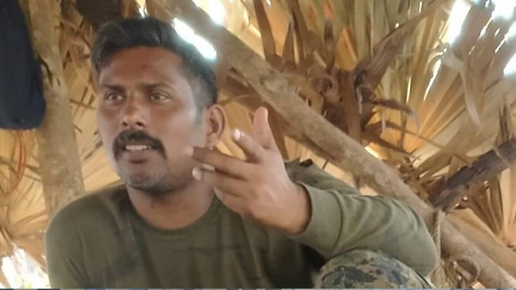 Maoists picture jawan custody