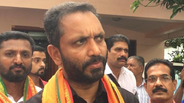 Pinarayi Vijayan resign Surendran