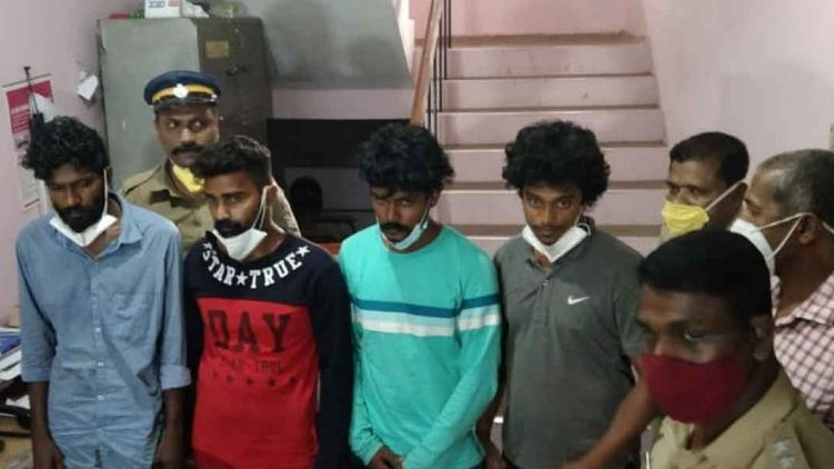 tvm gold robbery arrested