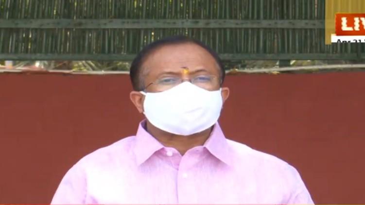 Muraleedharan criticises covid vaccine