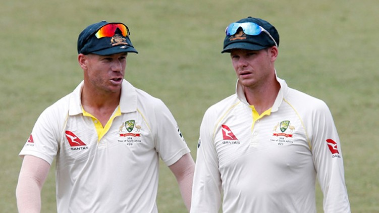 smith warner return australia