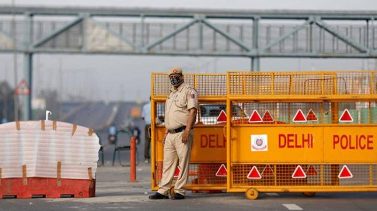 delhi lock down
