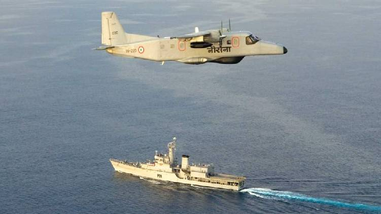indian navy search missing boat