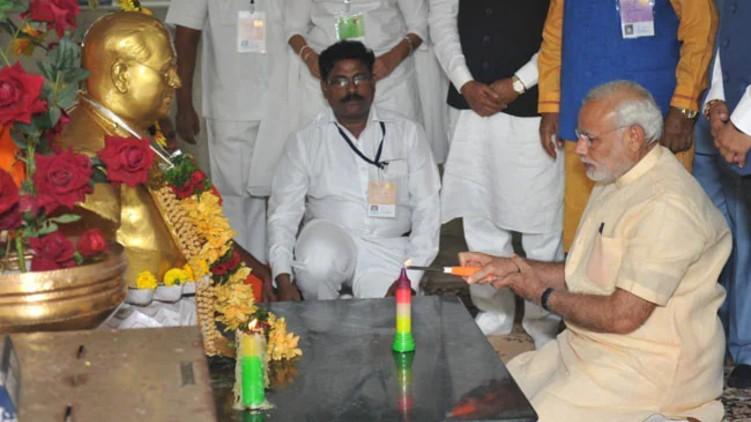 Babasaheb Ambedkar Narendra Modi