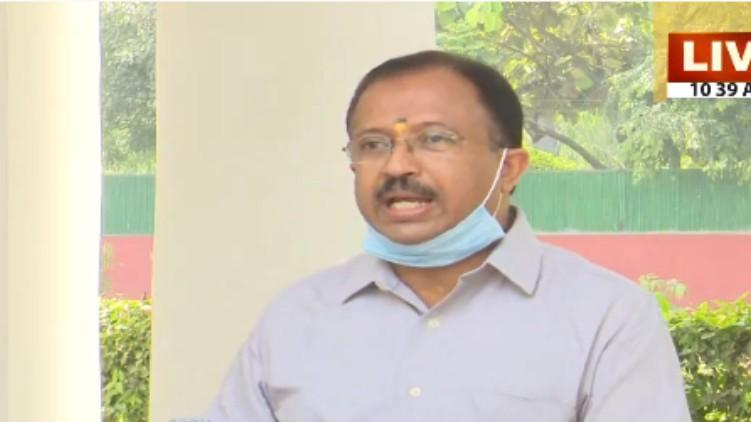 muraleedharan criticizes pinarayi
