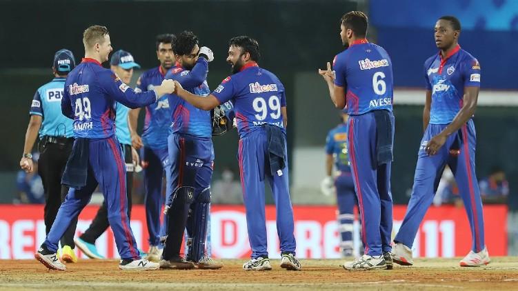delhi win mumbai indians