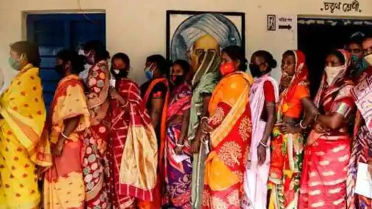 assam west bengal second phase election today