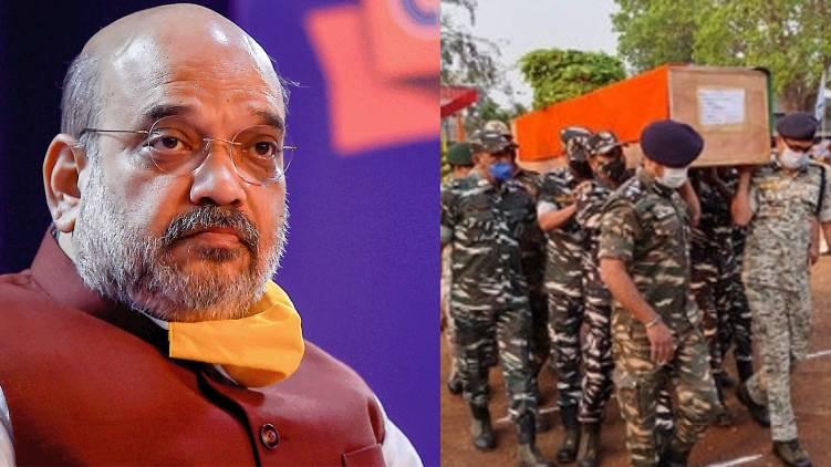 chattisgarh crpf jawans sacriice wont go in vain says amit shah