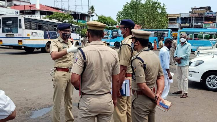 curfew in some places of kannur