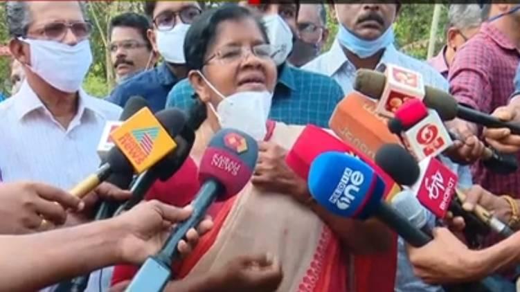 emcc director purs petrol says mercykutty amma
