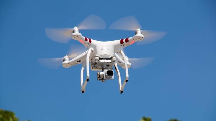 helicam drone laser gun banned thrissur pooram
