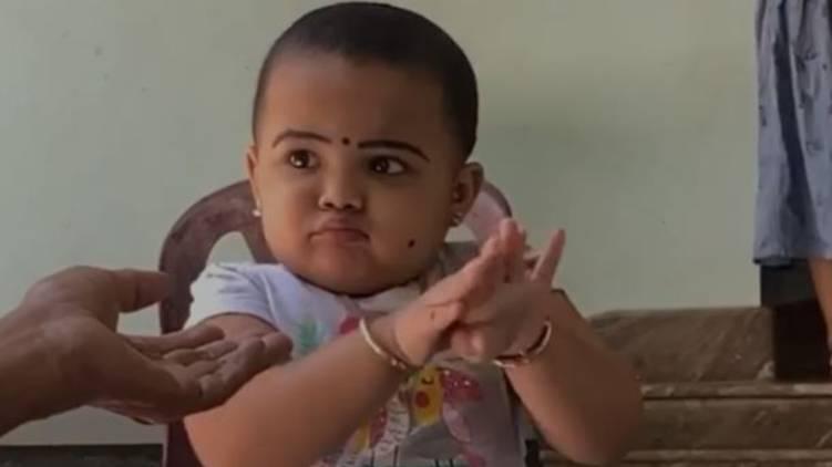 kid viral hand washing video
