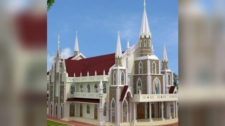 kuzhikattusseri renovated church inauguration tomorrow
