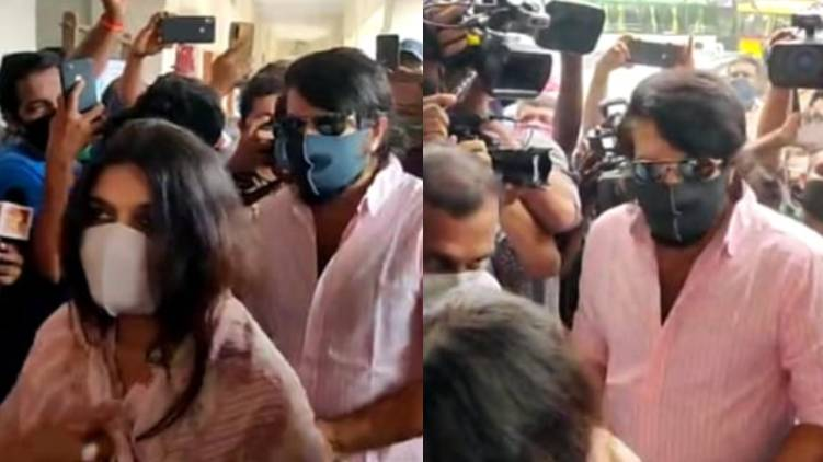 mammootty and wife cast vote