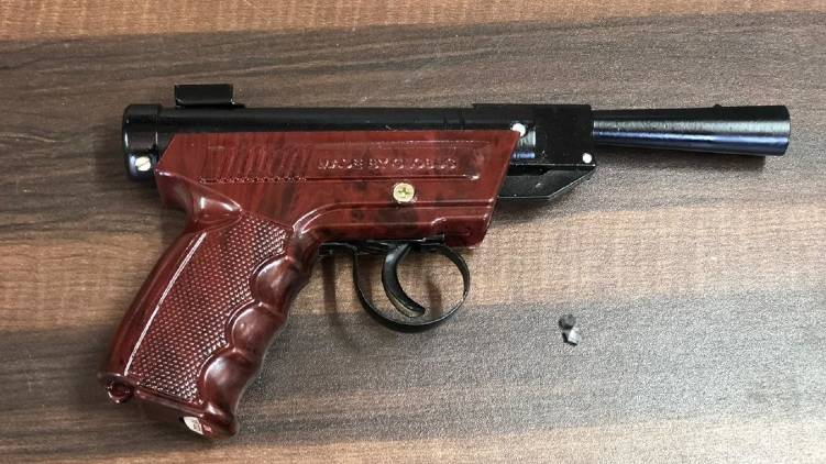 man shot friend with airgun