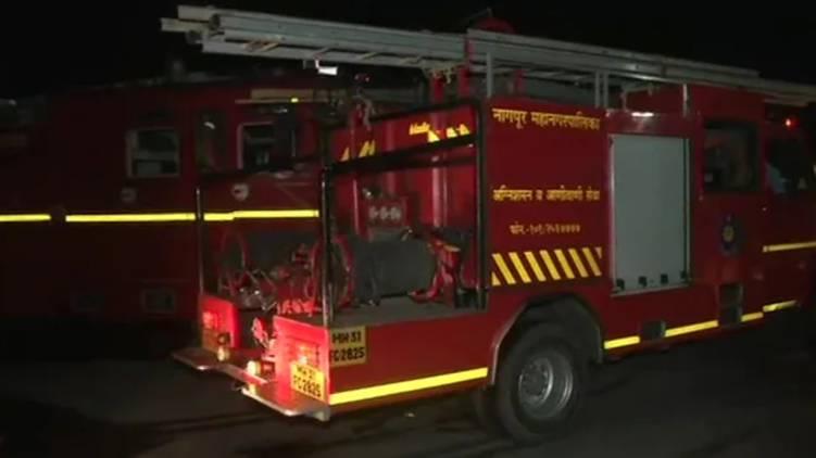 nagpur covid hospital catches fire